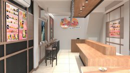 Design, manufacture and installation of stores: Sushi Kumto, Bang Bua Thong, Nonthaburi